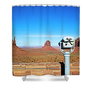 Monument Valley, Usa Shower Curtain