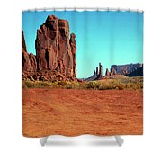 Monument3 Shower Curtain