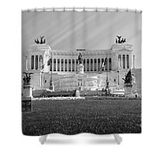 Monumental Architecture In Rome Shower Curtain
