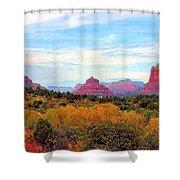Monumental Bell Rock Vista Shower Curtain