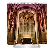 Monumental Shower Curtain by Evelina Kremsdorf