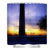 Monumental Sunset Shower Curtain