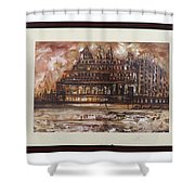 Monuments At Utaranchal Shower Curtain