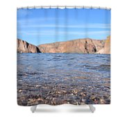 Monuments On Water Shower Curtain