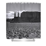 Monumentvalley 22 Shower Curtain