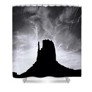 Monumentvalley 30 Shower Curtain