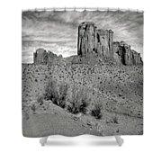 Monumentvalley 33 Shower Curtain