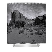 Monumentvalley 38 Shower Curtain