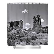 Monumentvalley 45 Shower Curtain