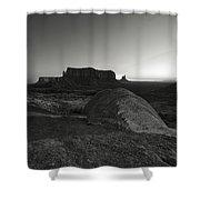 Monumentvalley 47 Shower Curtain