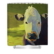 Moo To You Shower Curtain