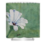 Mood Flower II Shower Curtain