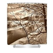 Mood Of Winter Shower Curtain