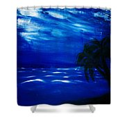 Moods Of The Sea Romantic Shower Curtain