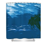 Moods Of The Sea Surreal Shower Curtain