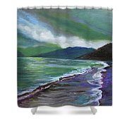 Moods Of Tioman 3 Shower Curtain