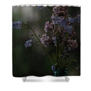 Moody Bouquet Shower Curtain