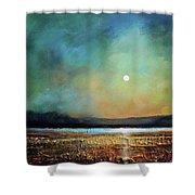 Moody Light Shower Curtain