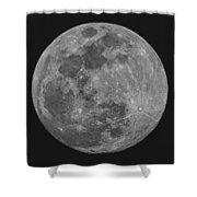 Moon 98 Percent Shower Curtain
