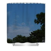 Moon Age Day Dream Shower Curtain
