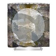 Moon Art On Stone Digital Graphics By Navin Joshi By Print Posters Greeting Cards Pillows Duvet Cove Shower Curtain by Navin Joshi