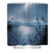 Moon Fog Shower Curtain