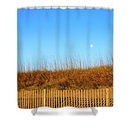 Moon In The Morning Shower Curtain