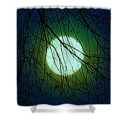 Moon Of The Werewolf Shower Curtain
