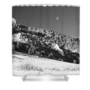 Moon Over Chatauqua 2 Shower Curtain