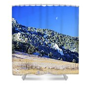 Moon Over Chautauqua Shower Curtain