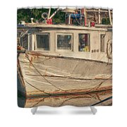 Moon Pie Shower Curtain