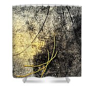 Moon Roots Shower Curtain