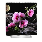 Moon Scape Shower Curtain