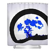 Moon Set Shower Curtain