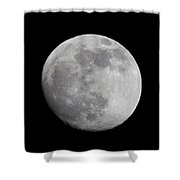 Moon1 Shower Curtain