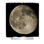 Moon3 Shower Curtain