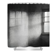Moonbeams On The Attic Window Shower Curtain
