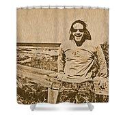 Moondoggie Shower Curtain