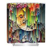 Moondrops Shower Curtain