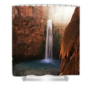 Mooney Falls Grand Canyon 1 Shower Curtain