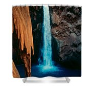 Mooney Falls Shower Curtain