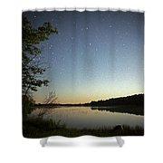 Starlight Over Susan Lake Shower Curtain