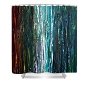 Moonlight Blues  Shower Curtain