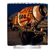 Moonlight Cafe Shower Curtain