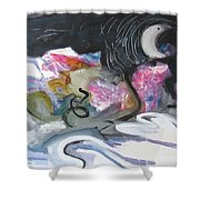 Moonlight Fever Shower Curtain