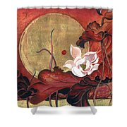 Moonlight Lullaby Shower Curtain