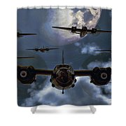 Moonlight Marauders Shower Curtain