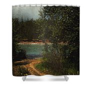 Moonlight Mile Shower Curtain