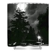 Moonlight On Philo Shower Curtain