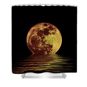 Moonlight On The Bay Shower Curtain